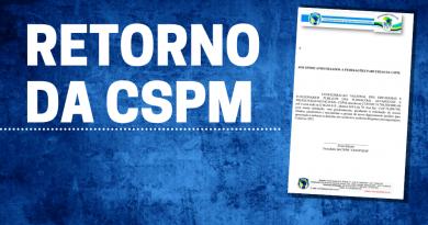 CSPM retoma atividades presenciais e divulga parecer jurídico sobre a LC 173
