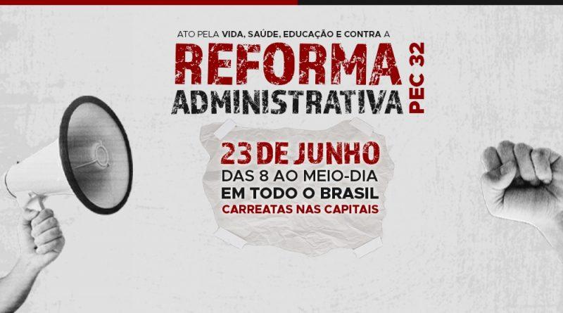 Luta contra a PEC 32 | Participem da grande manifestação na quarta (23), a partir das 8 da manhã