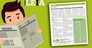 """Jornal """"Leia"""" destaca artigo do presidente Aires Ribeiro sobre os perigos da PEC 32"""