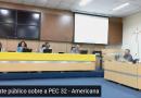 Americana/SP   Assista a participação do presidente Aires Ribeiro no debate sobre a PEC 32